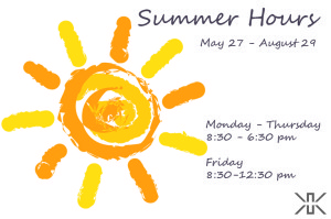 summer hours_announcement