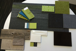 The finishes for the new KKIA DTLB office
